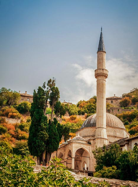 Bosnia And Herzegovina Pocitelj Mosque
