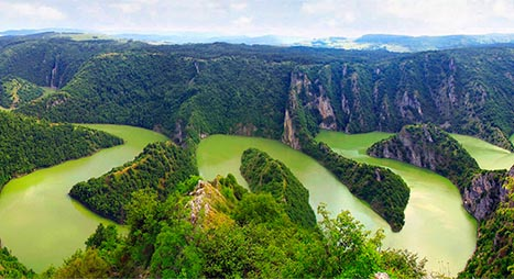 Serbia Canyon And River