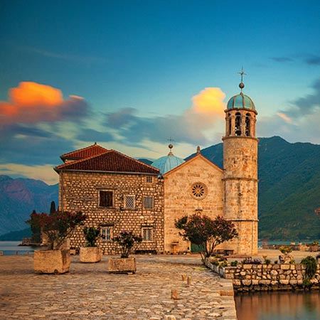 Montenegro Perast Our Lady Of The Rocks