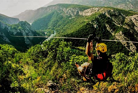 Croatia Excursion Zip Line