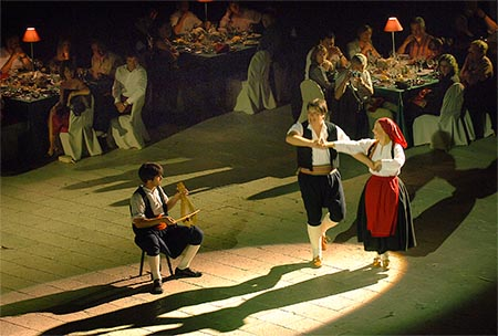 Croatia Folklore Performance