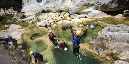 Croatia Canyoning on Cetina River