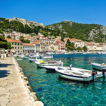 Croatia Hvar Local Port