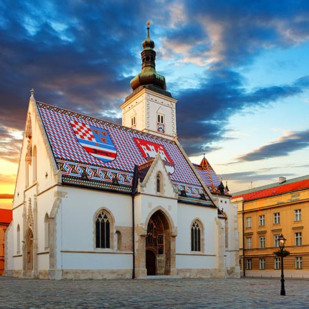 Zagreb Church Saint Marc Croatia